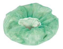 Hand Sewn Bouffant Green