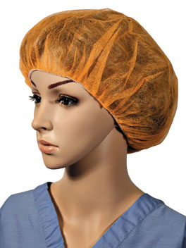 Hand Sewn Bouffant Orange